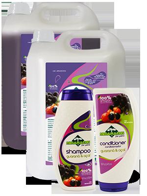 Shampoo e Condicionador Guaraná e Açaí